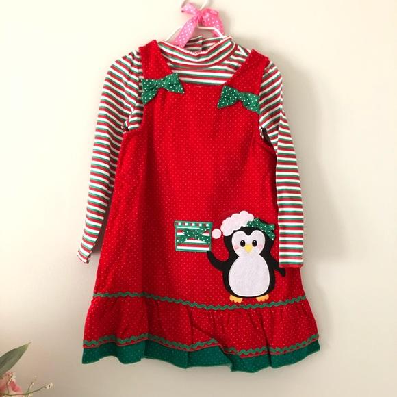 Nannette Kids 2 piece holiday dress